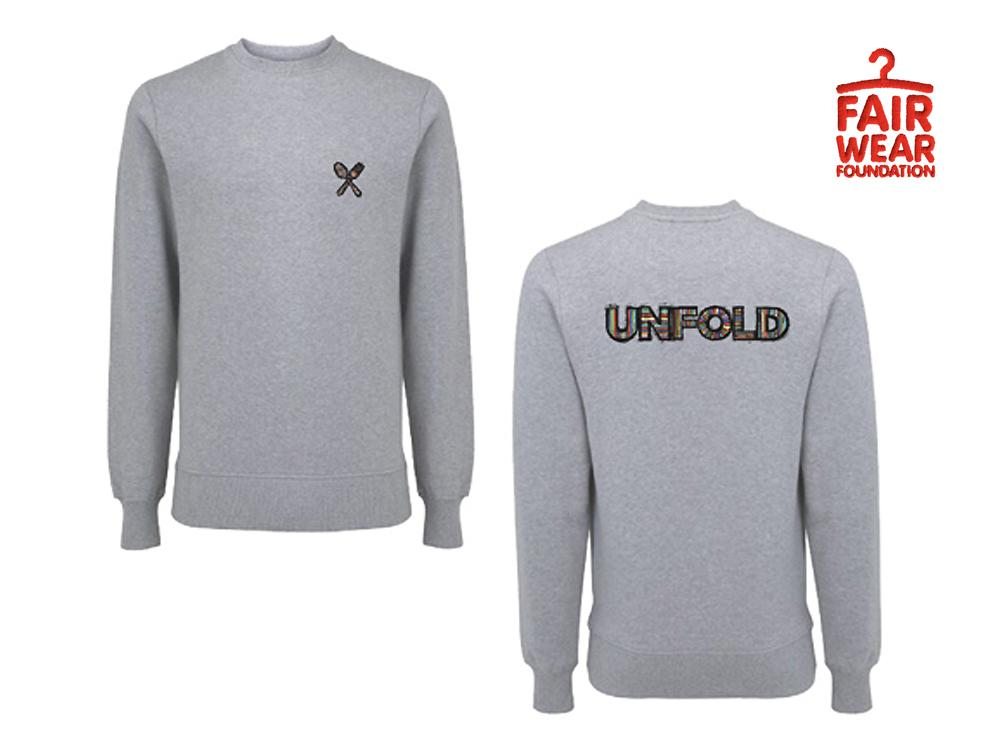 Unfold Sweater Grijs/Grey